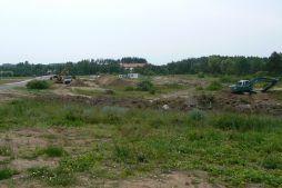 obszar budowy - hala produkcyjna z budynkiem biurowym, dla LÜTTGENS, Nielbark, woj. warmińsko-mazurskie
