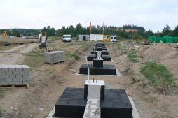 stopy fundamentowe - hala produkcyjna z budynkiem biurowym, dla LÜTTGENS, Nielbark, woj. warmińsko-mazurskie