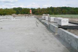 wylewka podłogowa - hala produkcyjna z częścią socjalno-biurową, dla Medos, Chełmno, woj. kujawsko-pomorskie