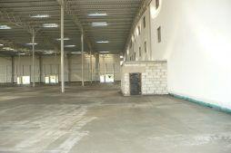 wnętrze hali 1 - hala magazynowa, dla PBM Południe, Macierzysz, woj. mazowieckie
