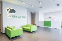 hol wejściowy - hala magazynowa z budynkiem biurowym, dla Sun Garden Poland, Malanów