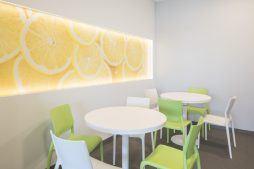pomieszczenie socjalne 1 - hala magazynowa z budynkiem biurowym, dla Sun Garden Poland, Malanów
