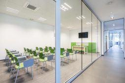 sala konferencyjna 1 - hala magazynowa z budynkiem biurowym, dla Sun Garden Poland, Malanów
