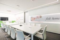 sala konferencyjna 4 - hala magazynowa z budynkiem biurowym, dla Sun Garden Poland, Malanów