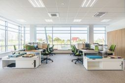 pomieszczenie biurowe 7 - hala magazynowa z budynkiem biurowym, dla Sun Garden Poland, Malanów