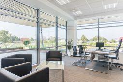 pomieszczenie biurowe 8 - hala magazynowa z budynkiem biurowym, dla Sun Garden Poland, Malanów