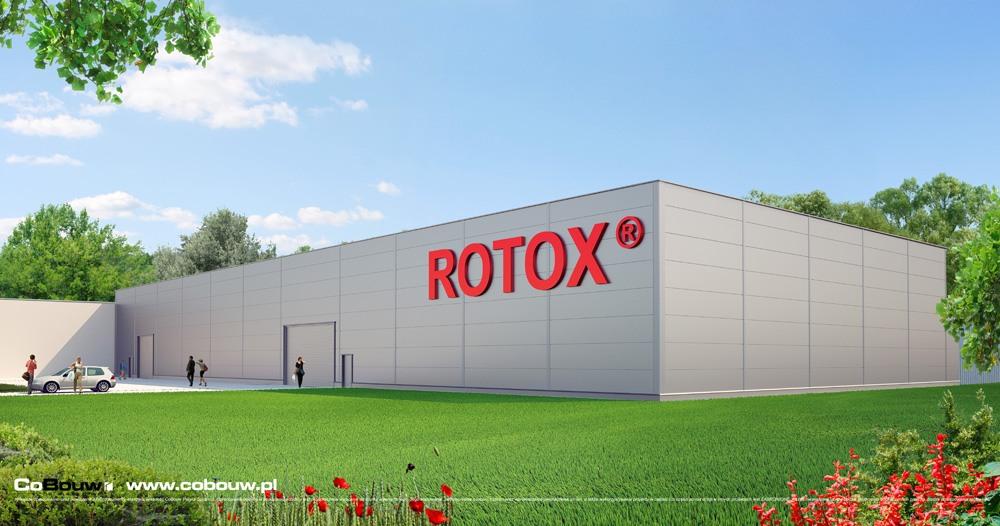 Budowa hali dla firmy Rotox Sp.zo.o.