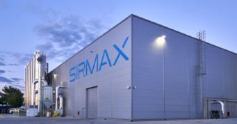 hala, elewacja boczna - obiekt przemysłowy, Siramx Polska, budowa pod klucz, CoBouw Polska, woj. łódzkie