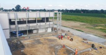 budowa dróg wokół obiektu - budowa pod klucz, dla Turenwerke, w Stanowicach, na terenie woj. śląskiego