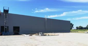 otwory bramowe - budowa w systemie zaprojektuj i zbuduj, zrealizowana przez CoBouw Polska, dla Turenwerke, Stanowice, woj. śląskie