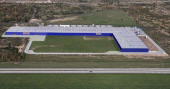 wizualizacja rozbudowy inwestycji dla Hörmann Polska - budowa czwartej hali, dla Hörmann Polska, Gromdka, woj. dolnośląskie