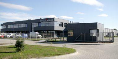 Uroczyste otwarcie obiektu dla firmy Promens (dawniej Bonar Plastics)