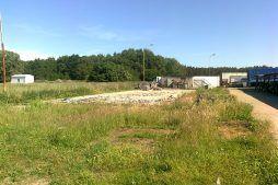 teren pod inwestycję - hala produkcyjna z budynkiem biurowym, Żdżary, dla Futrex, woj. zachodniopomorskie