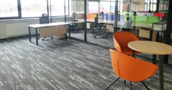 biura - kompleks hal dla branży metalowej, dla holenderskiej firmy Addit, Węgrów, woj. mazowieckie, projekt i budowa CoBouw Polska