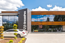 siedziba firmy - inwestycja dla DreamPen, branża reklamowa, Zielona Góra, woj. lubuskie