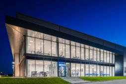 biurowiec firmy Viscon - inwestycja zrealizowana przez CoBouw Polska, hala stalowa w Płaszewku, woj. pomorskie