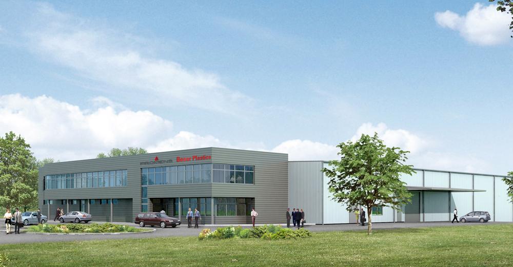 Hala produkcyjna z budynkiem socjalno-biurowym dla Promens Sp.zo.o.