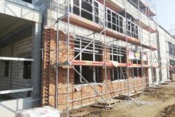 budowa części biurowej przy hali - hala produkcyjno-magazynowa z cześcią socjalno-biurową, Linea, Koszalin