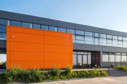 budynek socjalno-biurowy - zakład przemysłowy z biurowcem, dla Gorbi, Lublin, woj. lubelskie