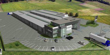 Budowa zakładu produkcyjnego z budynkiem socjalno-biurowym dla firmy Eurocolor Sp. z o.o.