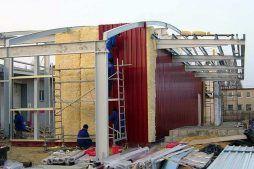 ocieplenie obiektu oraz montaż pokrycia z blachy trapezowej 1 - hala produkcyjno-magazynowa, dla Eurostep, Ksawerów