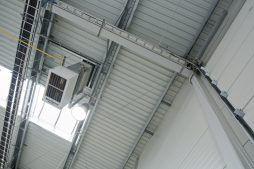 instalacje wewnętrzne - hala produkcyjno-magazynowa z budynkiem biurowym, dla Lidermax, Łukowo, woj. mazowieckie