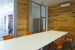 sala konferencyjna 1 - hala produkcyjno-magazynowa z budynkiem biurowym, dla Lidermax, Łukowo, woj. mazowieckie