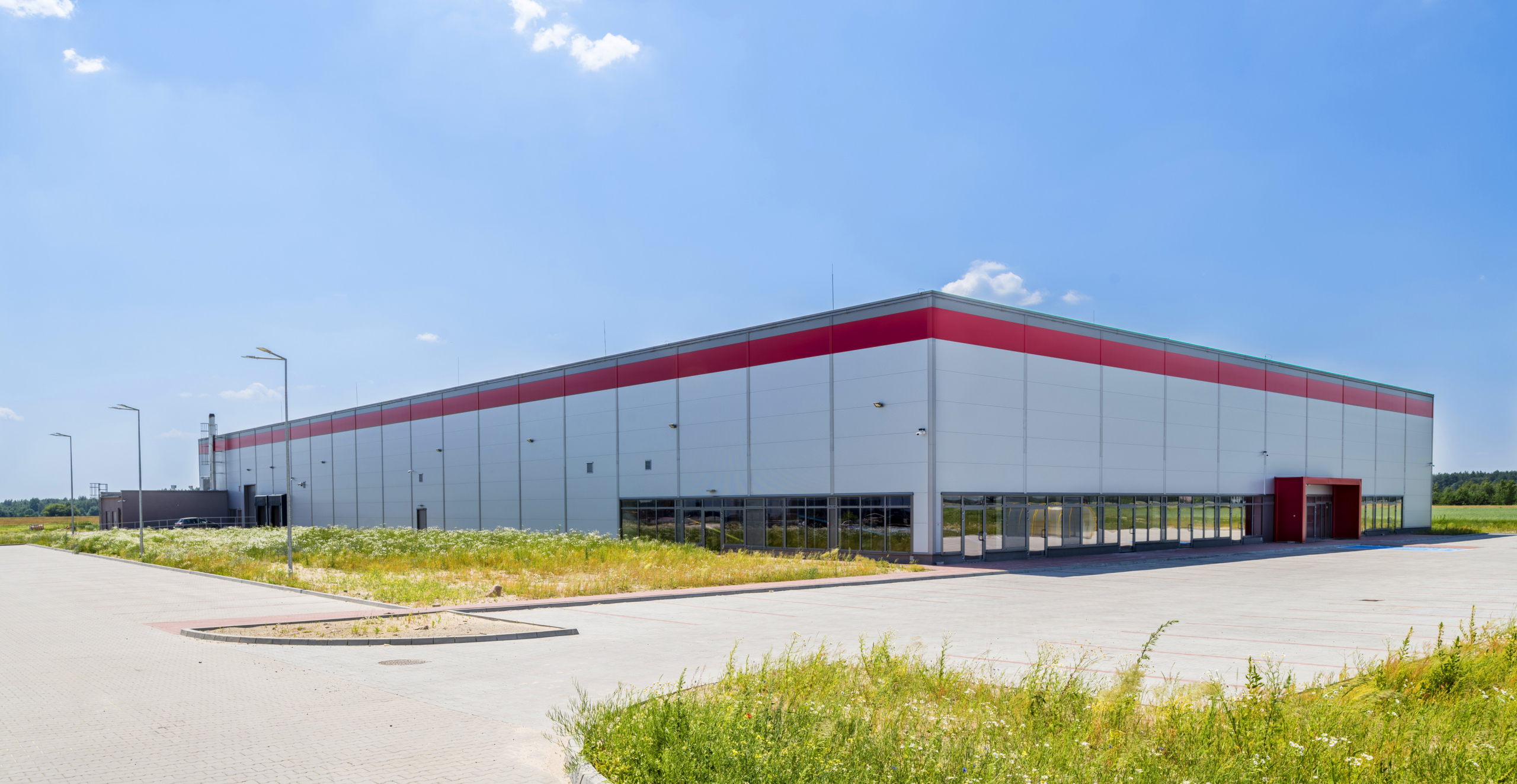 hala handlowa -realizacja dla hurtowni internetowej, CoBouw Polska