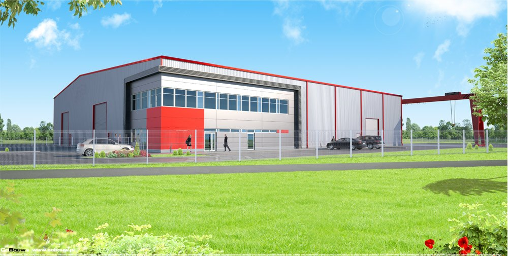 Budowa hali produkcyjnej dla firmy Pritip Compagnie