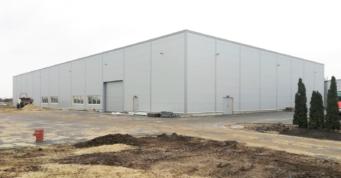 hala produkcyjno-magazynowa GG Tech w budowie - drugi obiekt przemysłowy, dla GG Tech, Piątek, woj. łódzkie