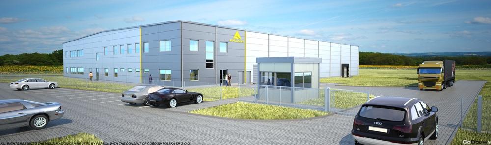Budowa hali produkcyjnej dla luksemburskiego Inwestora NWM Sp.zo.o.