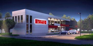 Budowa hali produkcyjno-magazynowej dla Vito Polska Sp. z o.o.