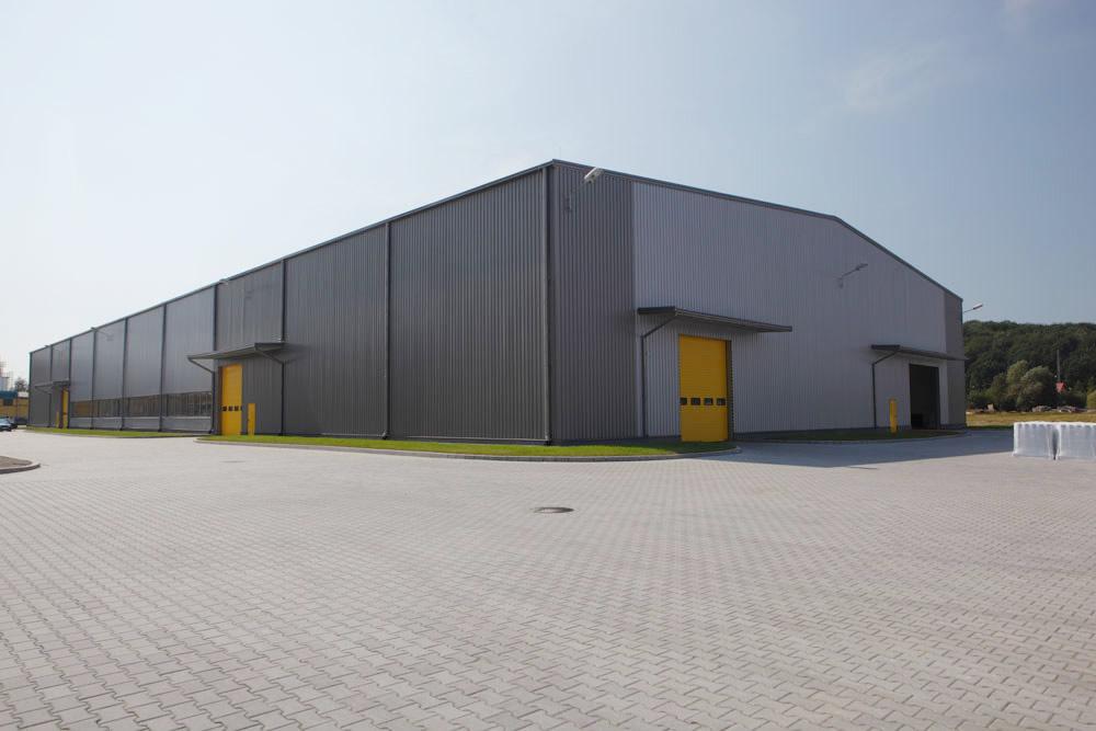 widok ogólny - hala produkcyjna, dla Lotos, Jasło, woj. podkarpackie