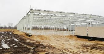 konstrukcja blachownica hali dwunawowej - hala produkcyjna, dla firmy Addit, czwarta budowa, wykonawstwo CoBouw Polska