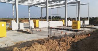 konstrukcja blachownicowa- generalne wykonawstwo inwestycji, dla Kentaur Production, Łobez, woj. zachodniopomorskie