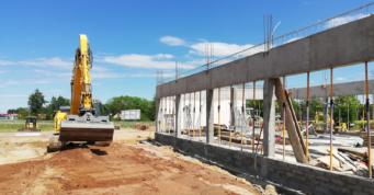 konstrukcja żelbetowa budynku biurowego - stalowa hala, dla Turenweke, woj. śląskie, Stanowice
