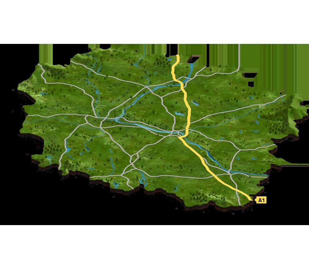 Mapa naszych realizacji