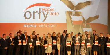 nagrodzeni Orłami Wpost, gala Łódź, 2019