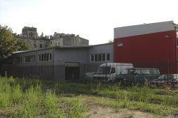 widok ogólny - hala produkcyjno-magazynowa, dla Lightex, Łódź, woj. łódzkie