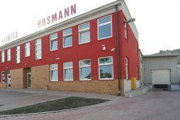 front budynku - hala produkcyjno-magazynowa, dla Lightex, Łódź, woj. łódzkie