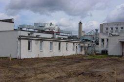 widok ogólny - hala produkcyjna, dla Lubiana Zakłady porcelany Stołowej, Lubiana, woj. pomorskie