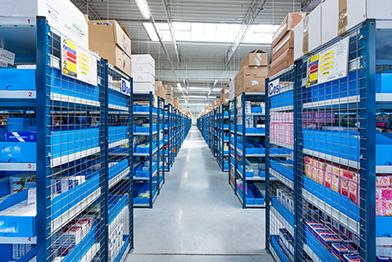 Hale magazynowe, logistyczne -przechowywanie towarów