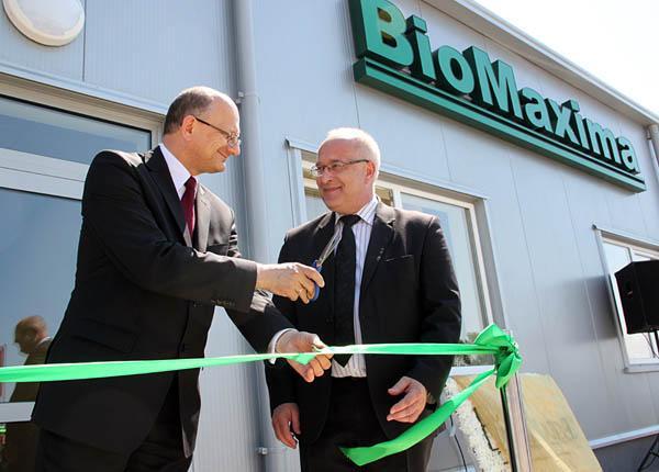 Uroczyste otwarcie hali firmy BioMaxima SA