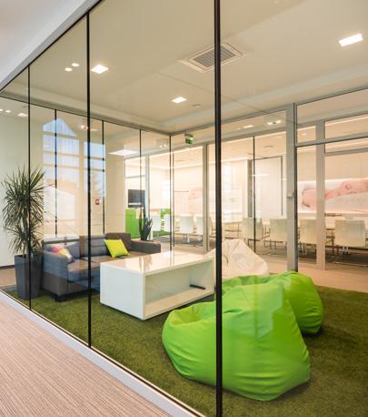 nowoczesne wnętrze biurowe