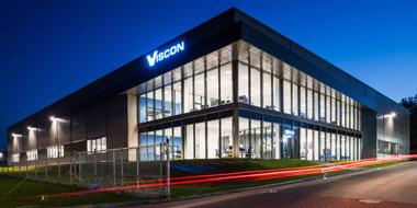 Kompaktowa elegancja obiektu dla firmy Viscon – dostawcy innowacyjnych technologii