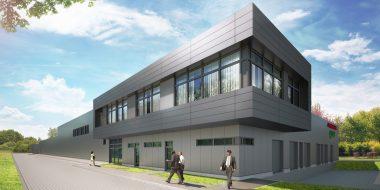 Budowa hali produkcyjnej dla firmy Olsza Olbrysz S.J.