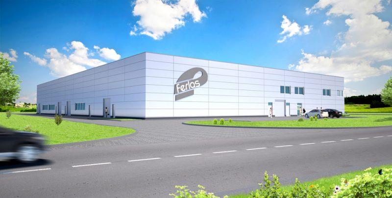 Budowa hali dla firmy Ferlas Import Export Sp.zo.o.