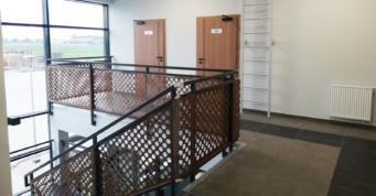 piętro w części biurowej obiektu - czwarta hala stalowa, dla Addit, Węgrów, woj. mazowieckie
