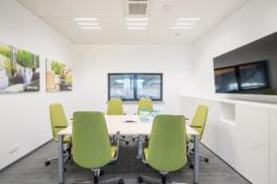 pomieszczenie biurowe przy hali produkcyjnej - inwestcja dla Viscon Real Estate Poland, Płaszewko, woj. pomorskie