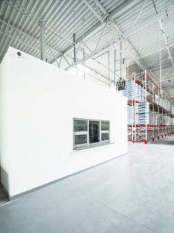 pomieszczenie nadzoru produkcji - centrum handlowe, dla firmy Kosmet-Hurt, Biała Podlaska, woj. lubelskie